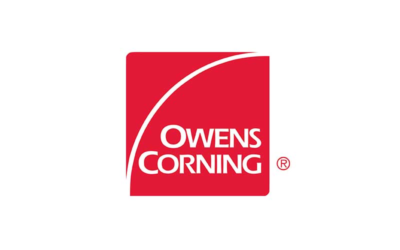 Owens Corning Logo Brands Used by Sequoia Insulation